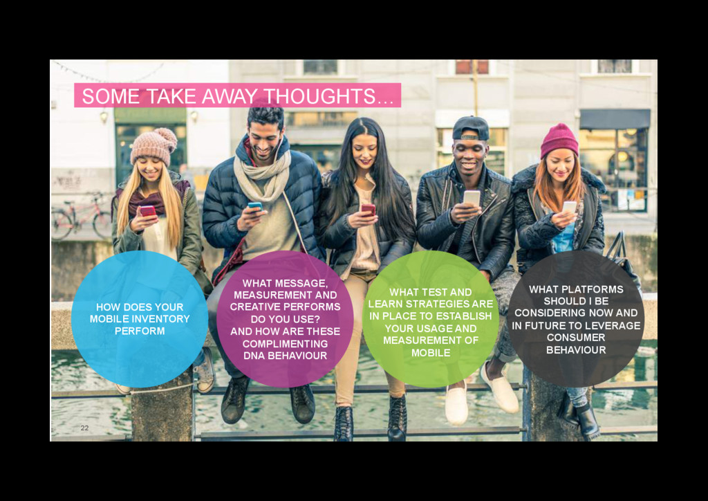 22 SOME TAKE AWAY THOUGHTS… HOW DOES YOUR MOBIL...