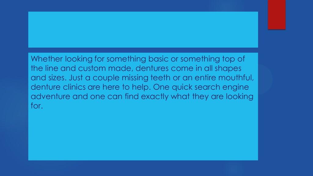Whether looking for something basic or somethin...