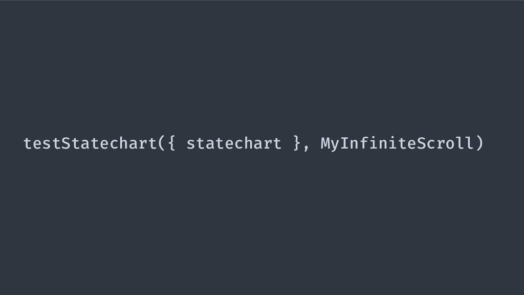 testStatechart({ statechart }, MyInfiniteScroll)