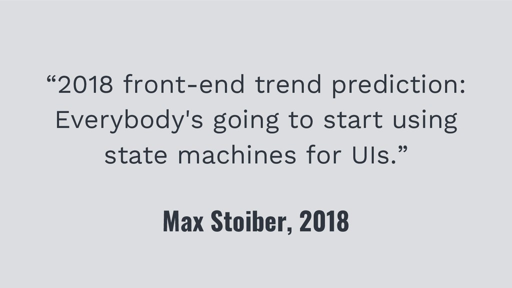 """2018 front-end trend prediction: Everybody's g..."