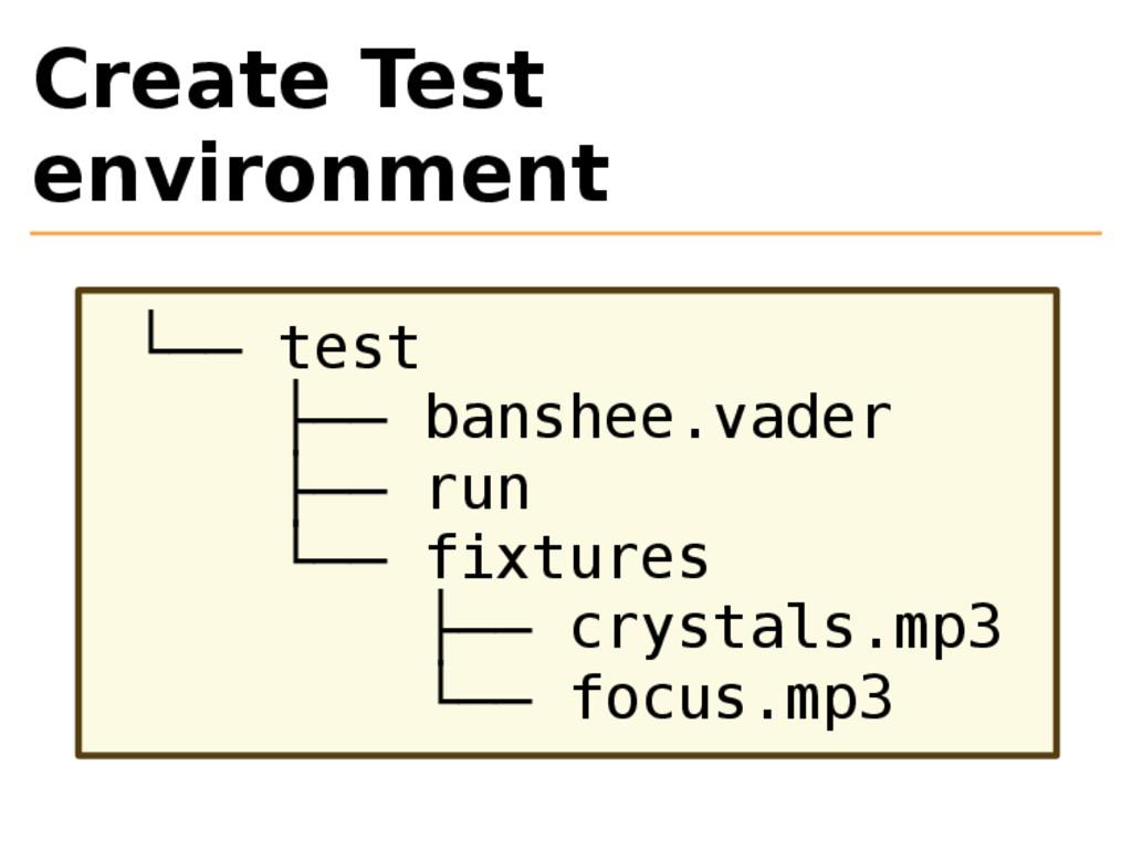 Create Test environment └── test ├── banshee.va...