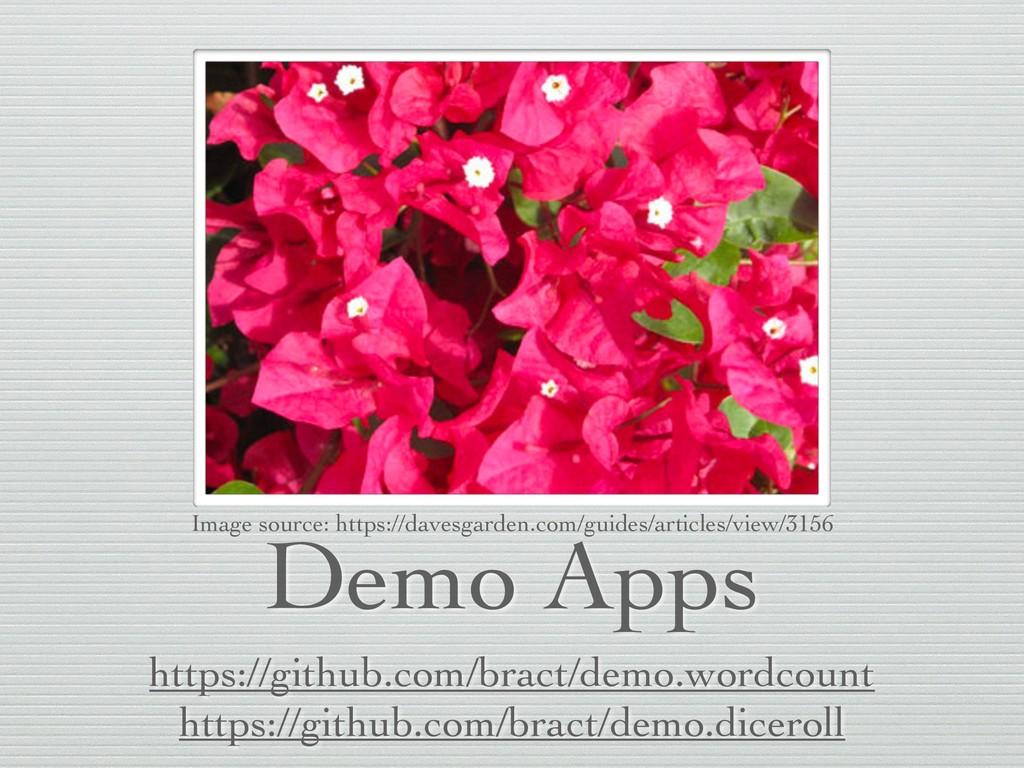 Demo Apps https://github.com/bract/demo.wordcou...