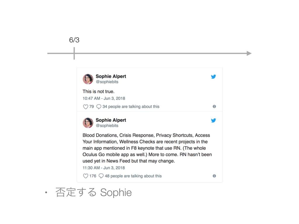 6/3 • ൱ఆ͢Δ Sophie