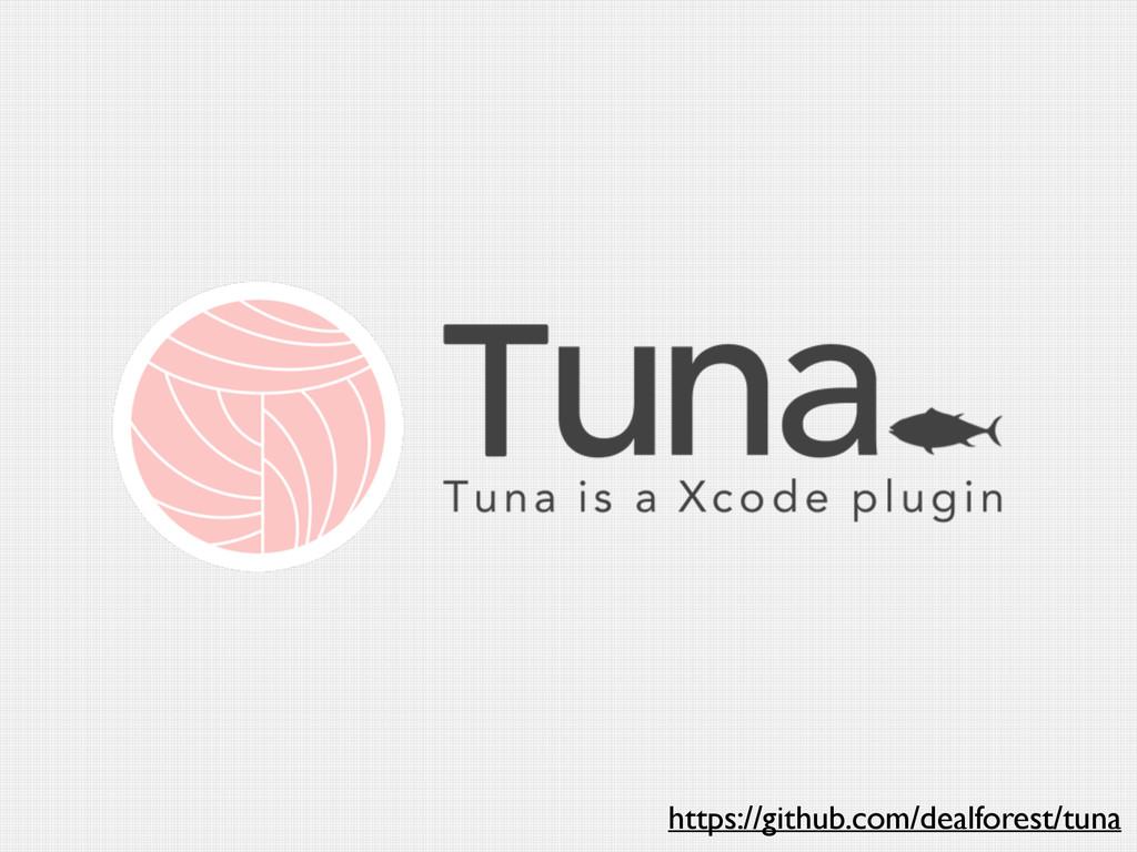https://github.com/dealforest/tuna