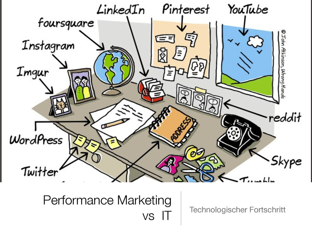Performance Marketing vs IT Technologischer For...