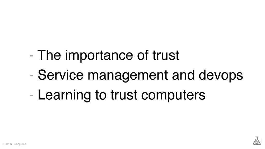 - The importance of trust - Service management ...