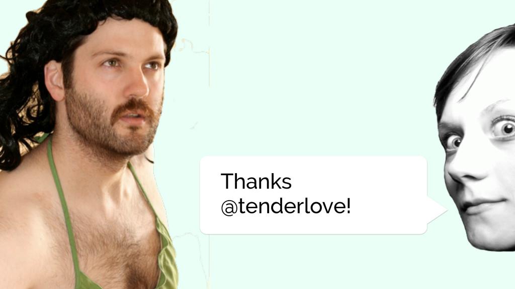 Thanks @tenderlove!