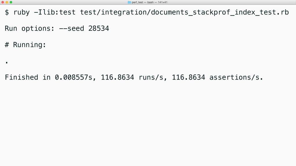 $ ruby -Ilib:test test/integration/documents_st...