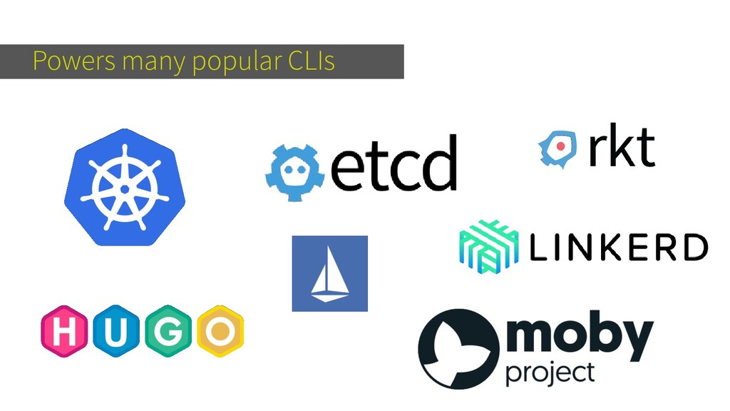 Powers many popular CLIs