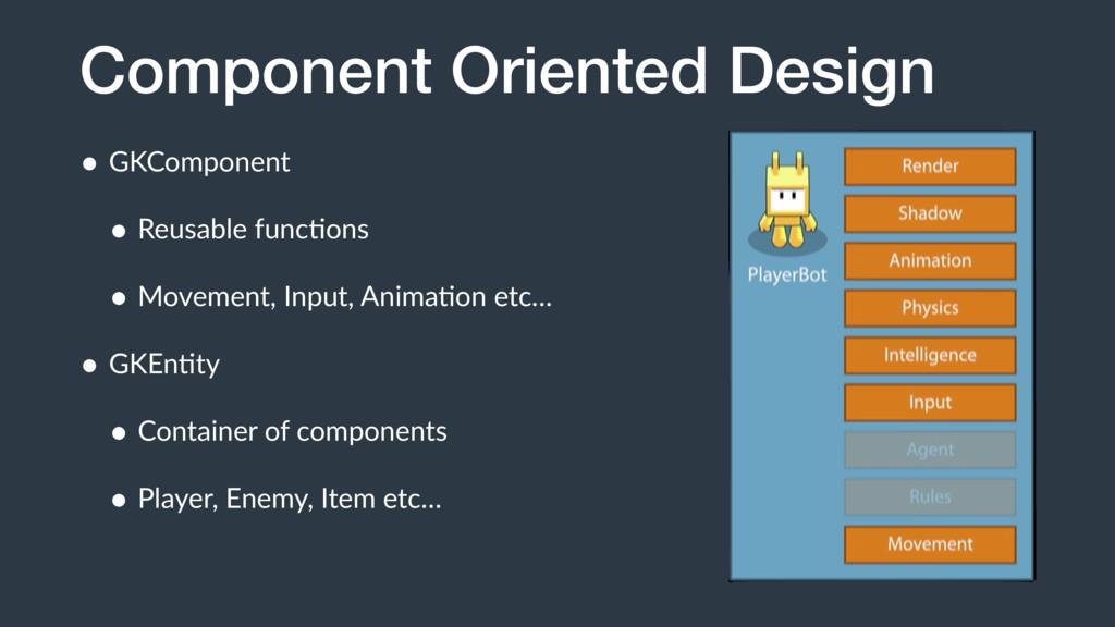 Component Oriented Design • GKComponent • Reusa...
