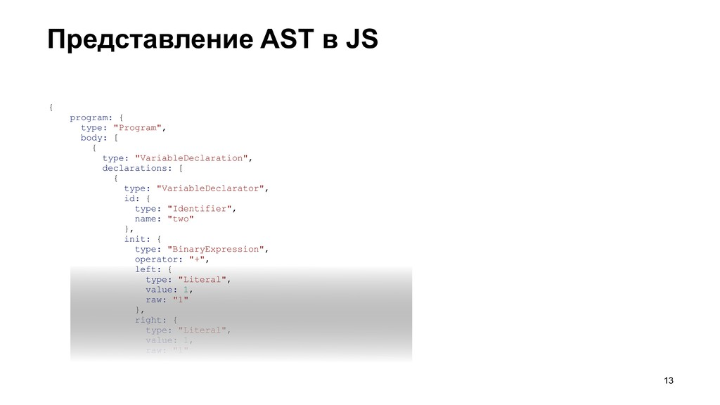 "{ program: { type: ""Program"", body: [ { type: ""..."