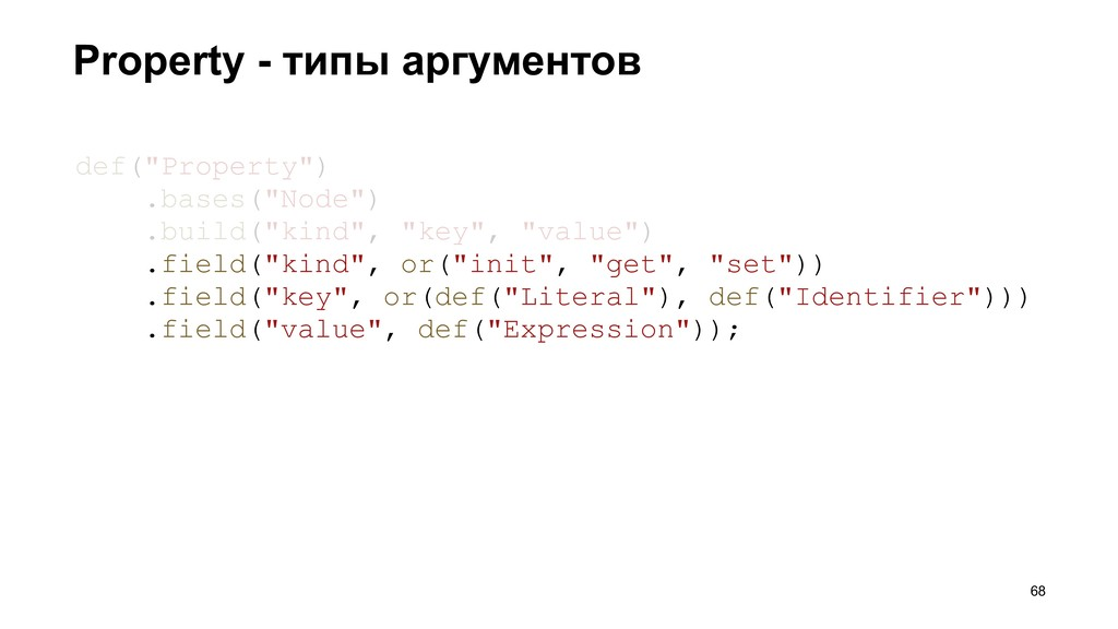 "Property - типы аргументов >68 def(""Property"") ..."