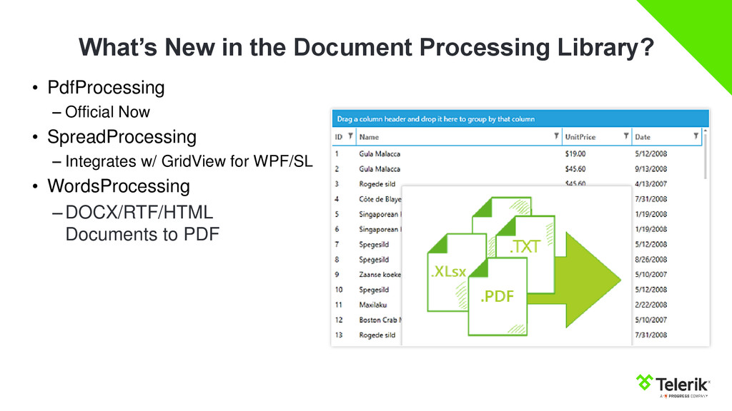 What's New in the Document Processing Library? ...