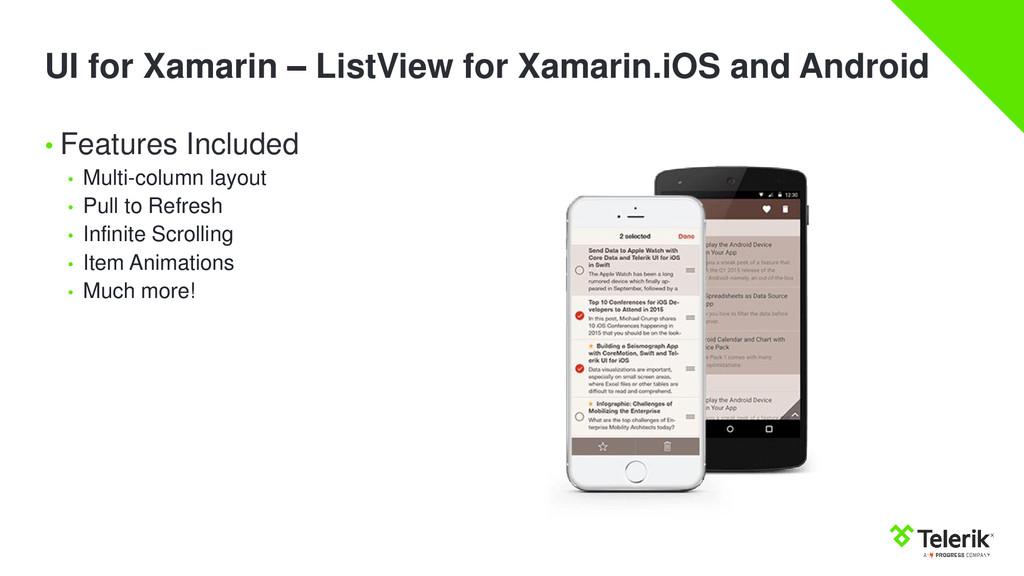 UI for Xamarin – ListView for Xamarin.iOS and A...