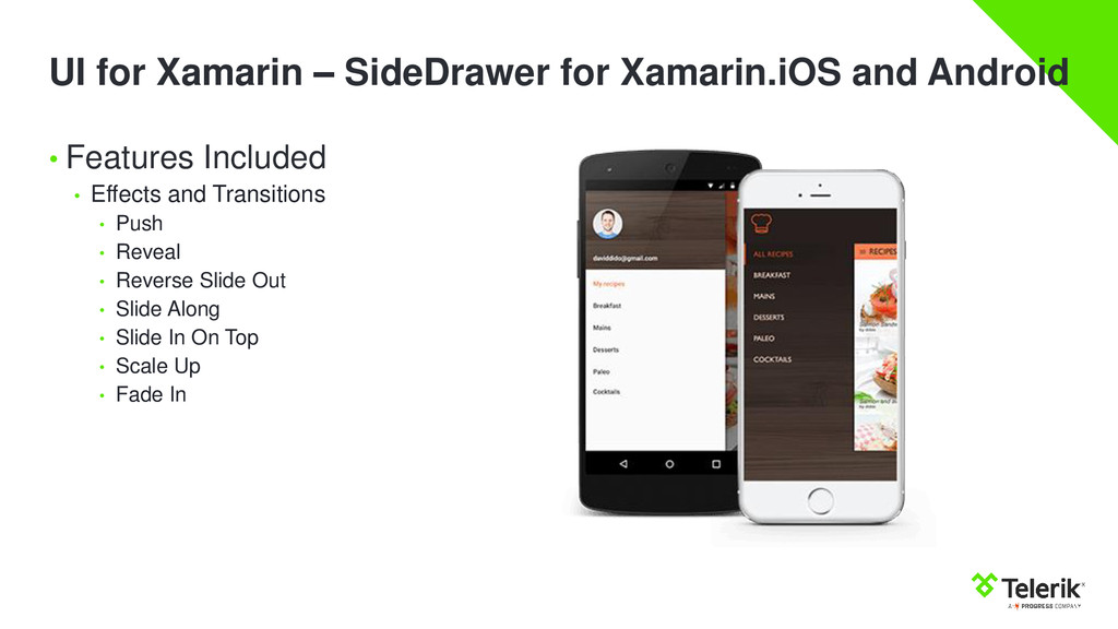 UI for Xamarin – SideDrawer for Xamarin.iOS and...