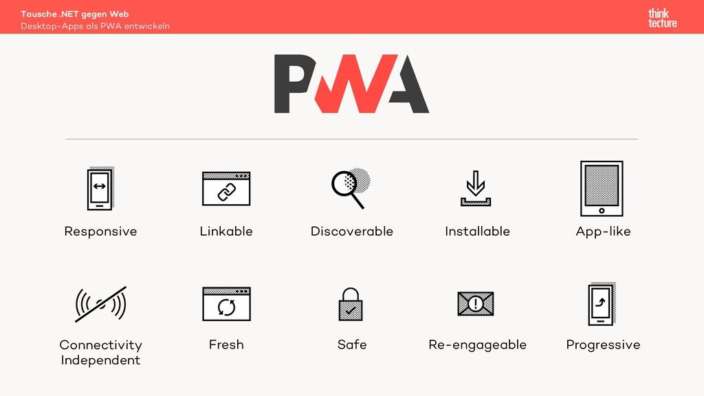 Desktop-Apps als PWA entwickeln Tausche .NET ge...