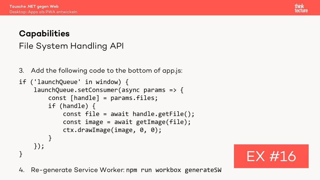 File System Handling API 3. Add the following c...