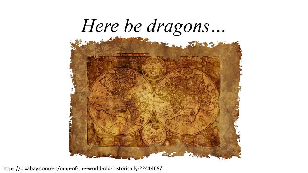 Here be dragons… https://pixabay.com/en/map-of-...