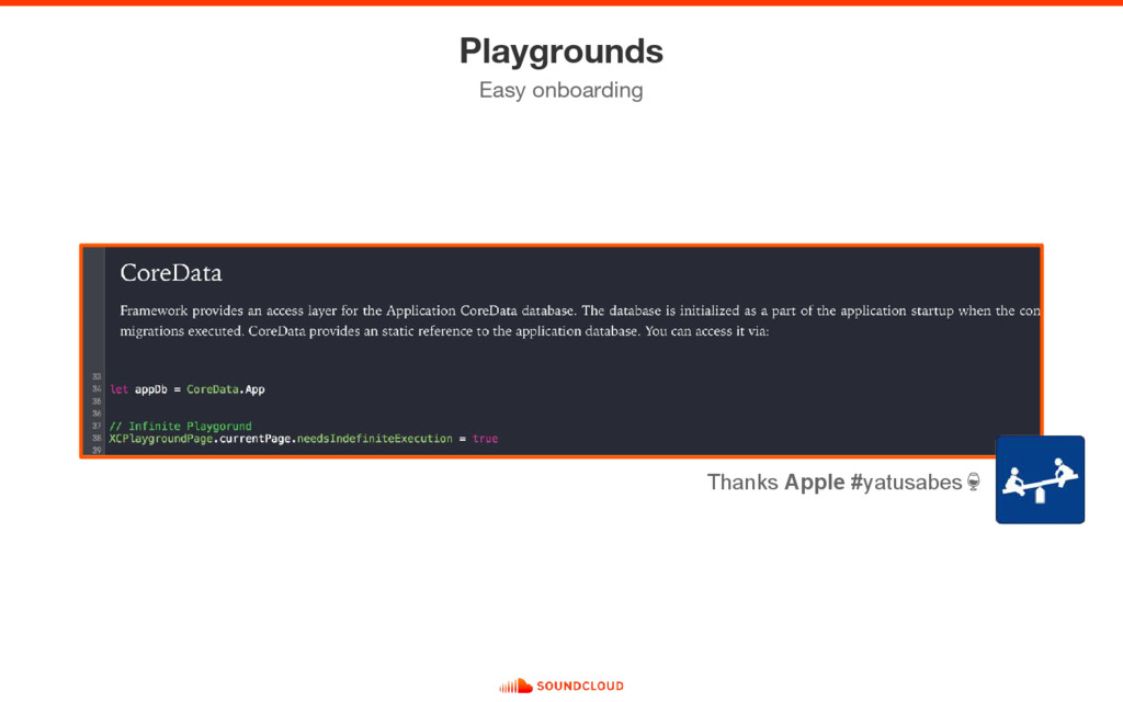 Playgrounds Easy onboarding Thanks Apple #yatus...