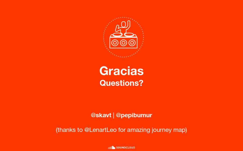 Gracias Questions? @skavt | @pepibumur (thanks ...