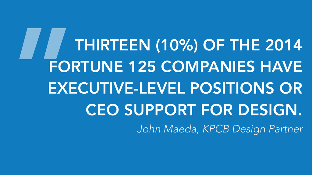 """THIRTEEN (10%) OF THE 2014 FORTUNE 125 COMPANI..."