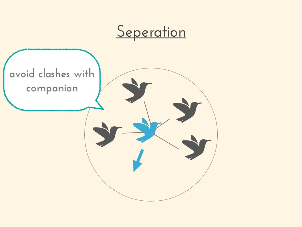 Seperation avoid clashes with companion