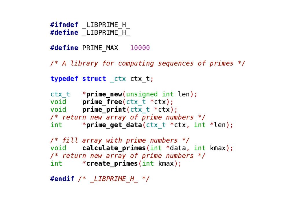 #ifndef _LIBPRIME_H_ #define _LIBPRIME_H_ #defi...
