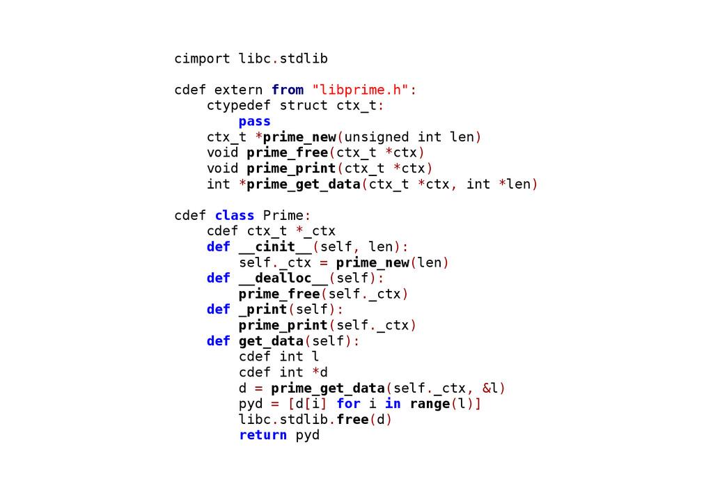 "cimport libc.stdlib cdef extern from ""libprime...."