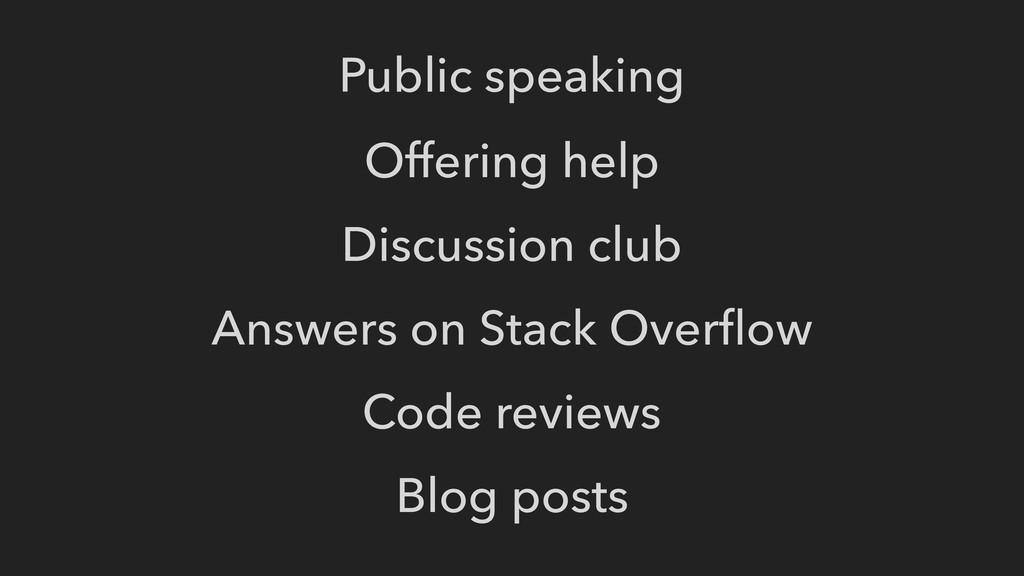 Offering help Discussion club Answers on Stack ...