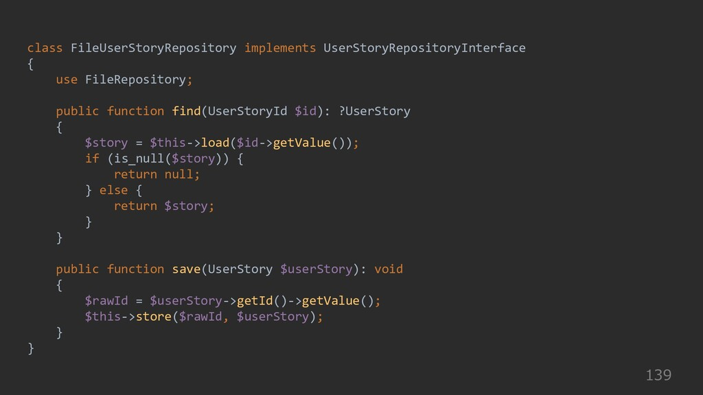 139 class FileUserStoryRepository implements Us...