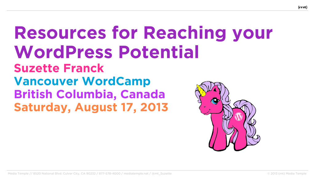 Resources for Reaching your WordPress Potential...