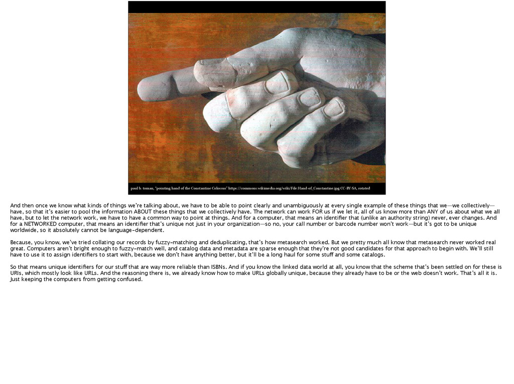 """paul b. toman, """"pointing hand of..."""