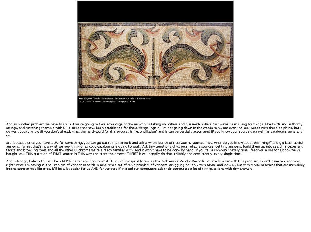 "Ken & Nyetta, ""Dolfin Mosaic from..."