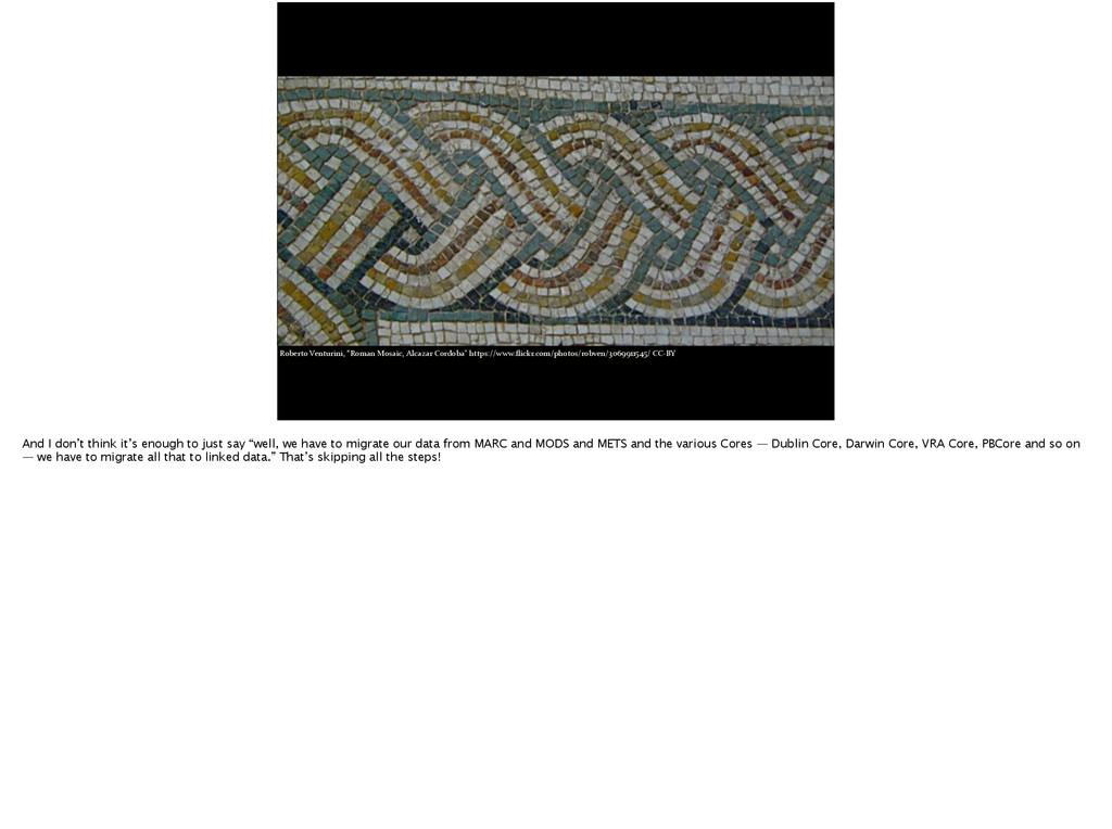 "Roberto Venturini, ""Roman Mosaic, A..."
