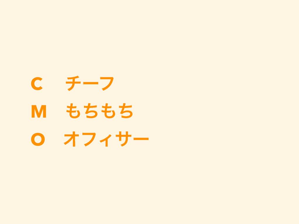 C νʔϑ M ͪͪ O ΦϑΟαʔ