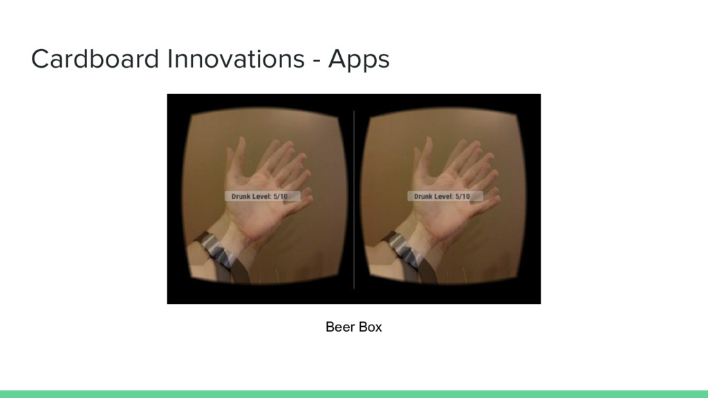 Cardboard Innovations - Apps Beer Box