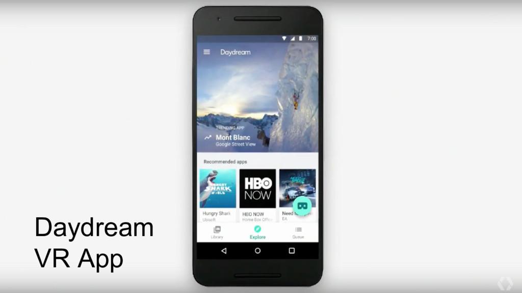 Daydream VR App