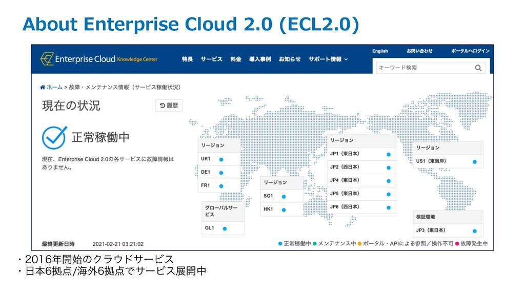 About Enterprise Cloud 2.0 (ECL2.0) ɾ։ͷΫϥ...