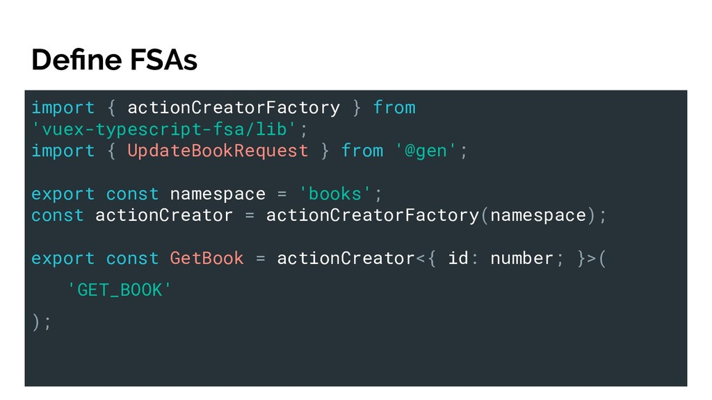 import { actionCreatorFactory } from 'vuex-type...