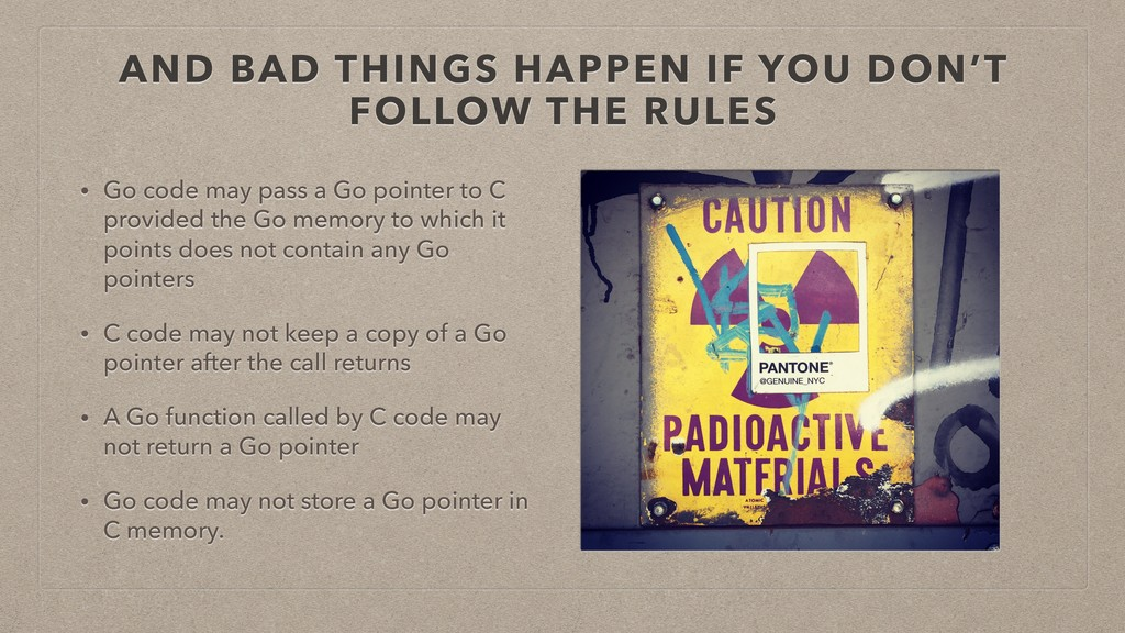 AND BAD THINGS HAPPEN IF YOU DON'T FOLLOW THE R...