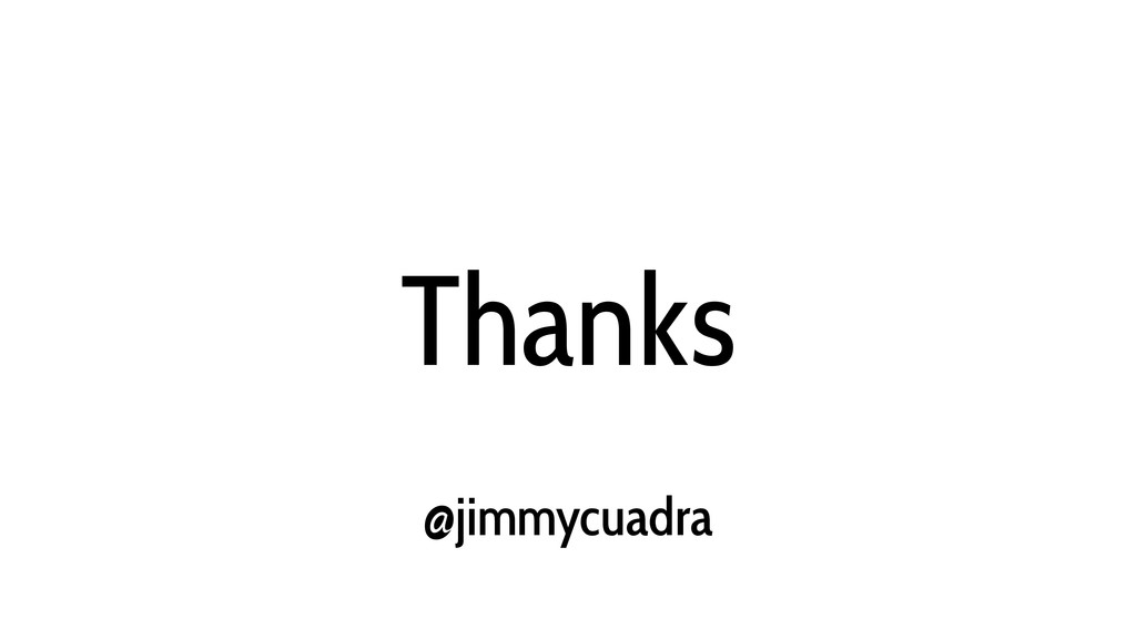 Thanks @jimmycuadra