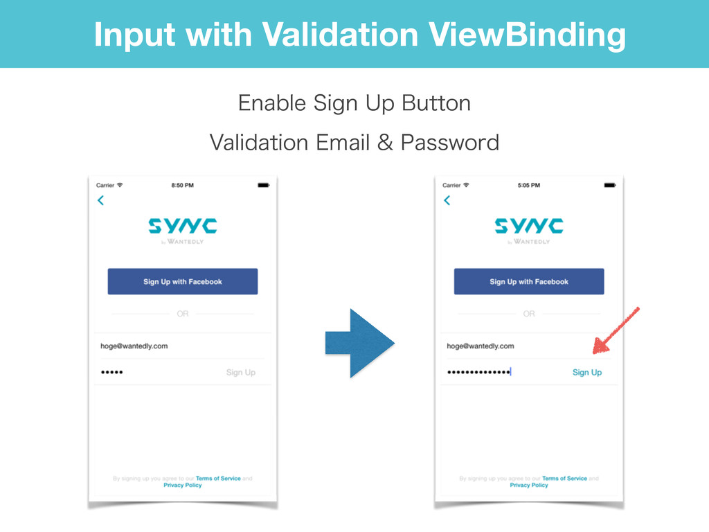 Input with Validation ViewBinding &OBCMF4JHO6...
