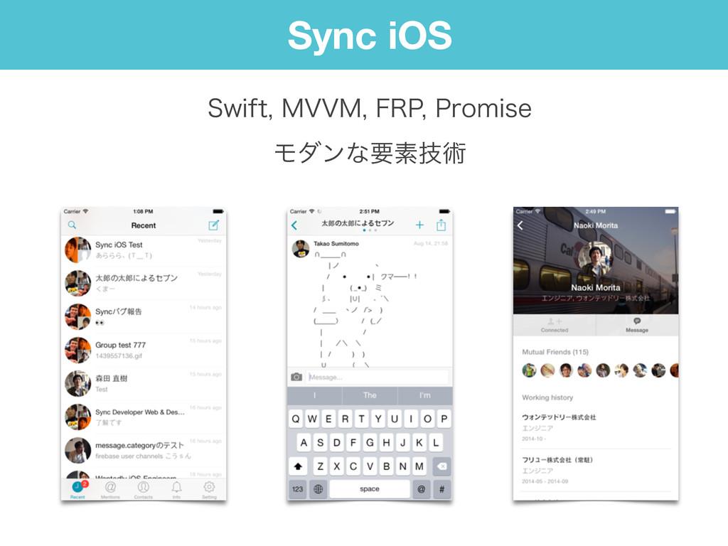 Sync iOS 4XJGU.77.'311SPNJTF Ϟμϯͳཁૉٕज़