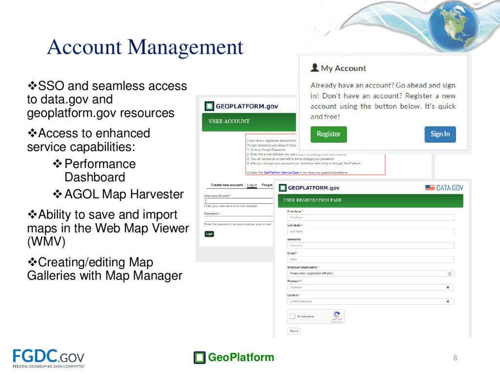 GeoPlatform SSO and seamless access to data.go...