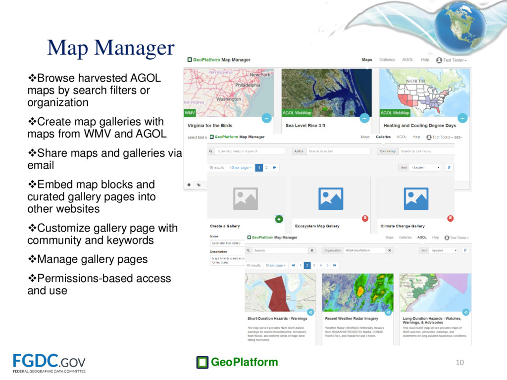 GeoPlatform Browse harvested AGOL maps by sear...