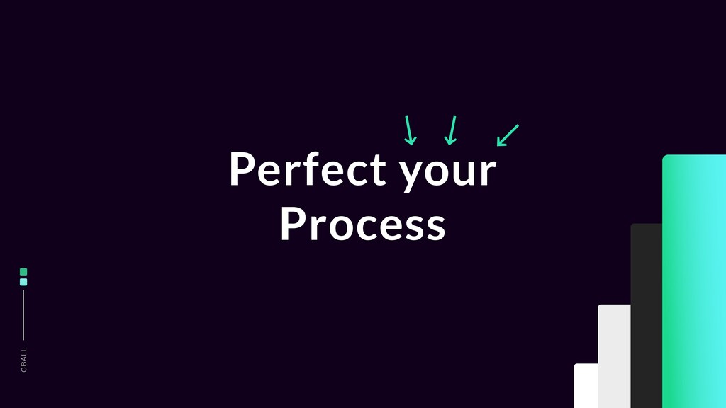 CBALL Perfect your Process ↙ ↙ ↙