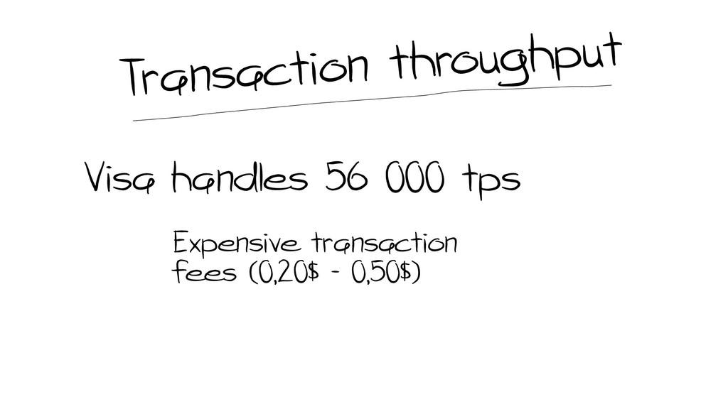 Visa handles 56 000 tps Expensive transaction f...