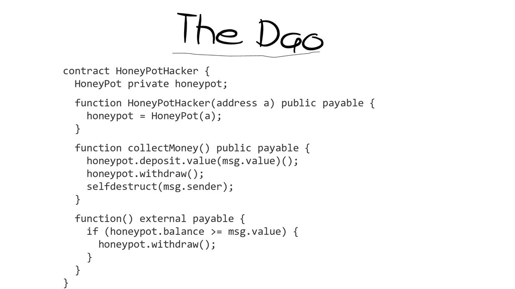 contract HoneyPotHacker { HoneyPot private hone...
