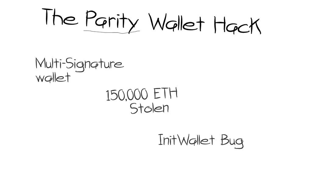 Multi-Signature wallet InitWallet Bug