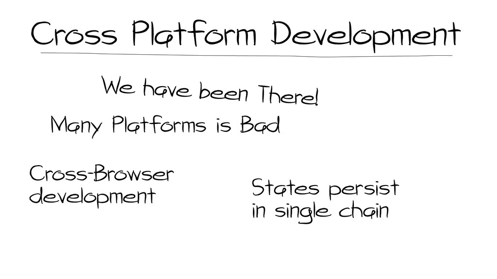 Cross Platform Development Many Platforms is Ba...